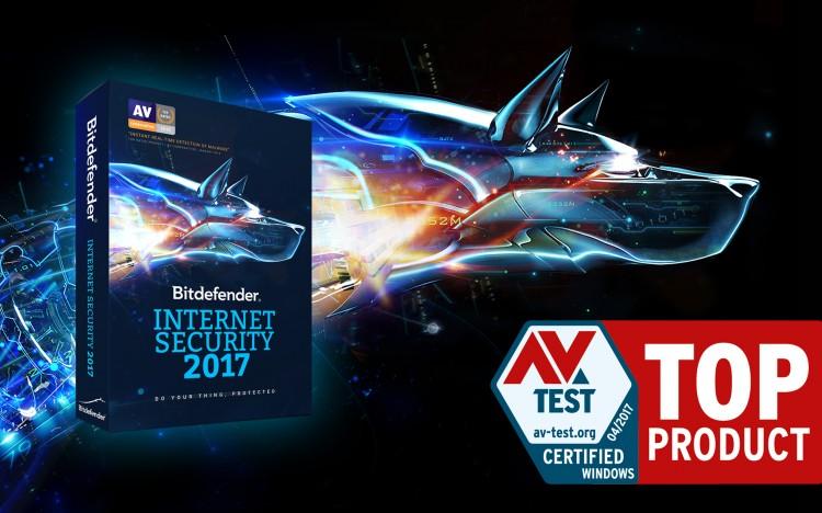 Bitdefender otrzymuje odznaczenie TOP PRODUCT jako jeden z najlepszych programów antywirusowych.