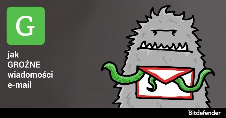 ABC Cyberbezpieczeństwa: G jak groźne wiadomości e-mail