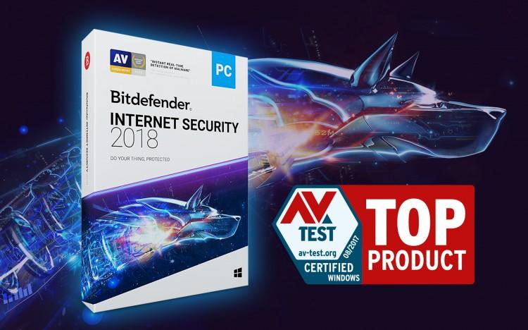 Bitdefender Internet Security po raz kolejny z odznaczeniem TOP PRODUCT
