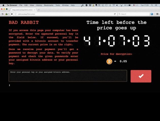 Ransomware Bad Rabbit nadal atakuje. Jest firma która ma już rozwiązanie.