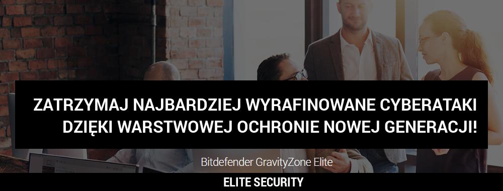 Bitdefender GravityZone Elite Security już dostępny w wersji on-premise
