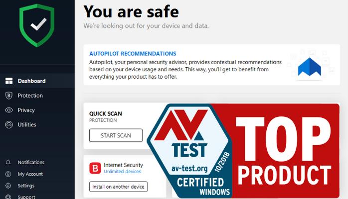 AV-TEST wybrał najlepsze antywirusy dla domu i firmy na Windows 10
