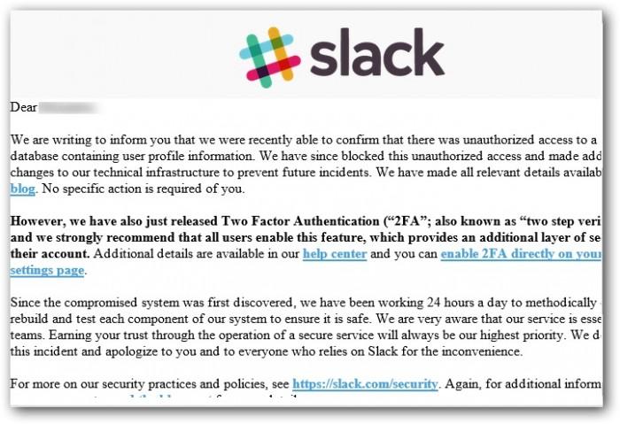Serwis Slack zhakowany - hakerzy atakują