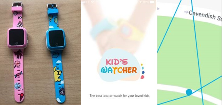 Zegarki MiSafes dla dzieci