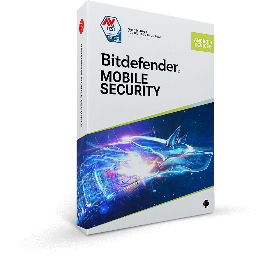 Pudełko Bitdefender security for android