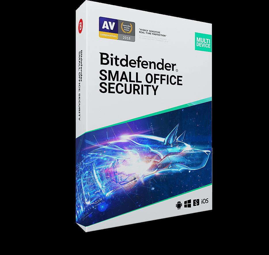 Antywirus dla małych firm Bitdefender Small Office Security