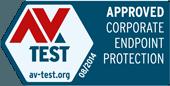 Certyfikat AV-TEST Lipiec - sierpień 2014