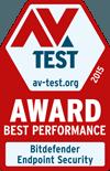 AV-TEST BEST PERFORMANCE 2015 ANNUAL AWARD