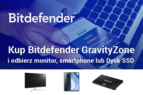 Kup Bitdefender GravityZone i odbierz prezent
