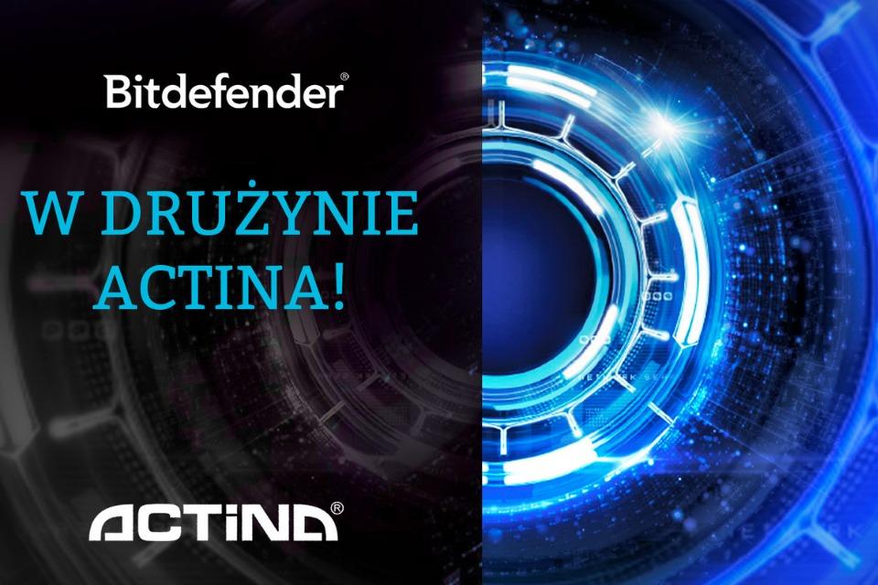 Bitdefender i Actina łączą siły