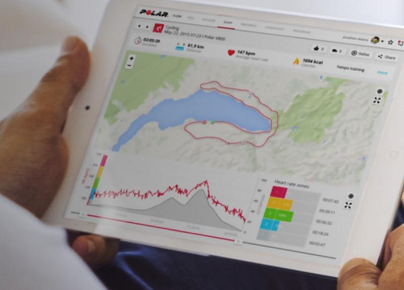 Polar Flow udostępnia dane lokalizacyjne