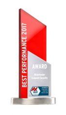 AV-TEST BEST PERFORMANCE 2017 ANNUAL AWARD
