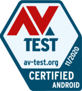 AV_TEST Certified Android listopad 2020