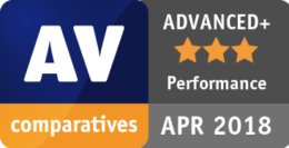 AV-Comparatives REAL-WORLD PROTECTION TEST MARZEC - KWIECIEŃ 2018