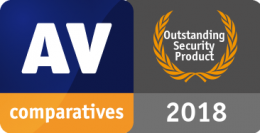 AV-Comparatives Outstanding Product 2018